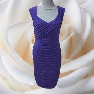 London Times Bandage BodyCon Dress Party 12 NWOT